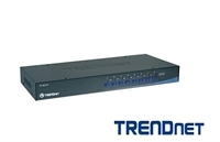 Chaveador KVM - KVM Switch 8 Portas PS2 TrendNet TK-801R